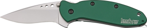 Нож складной KEN ONION SCALLION Aluminium green Kershaw
