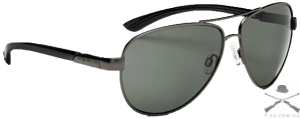 Очки солнцезащитные Optic Nerve Arsenal Matte Gunmetal (Polarized Smoke)